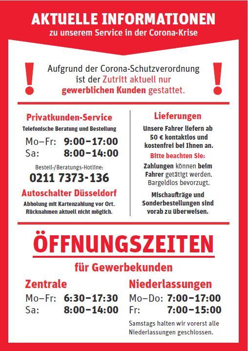 Corona Information HP Sa1400 nurGewerbe