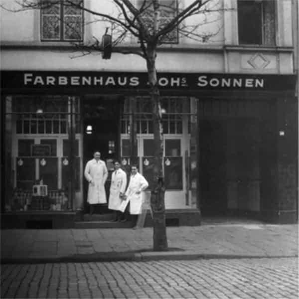 Farbenhaus Johannes Sonnen 1928