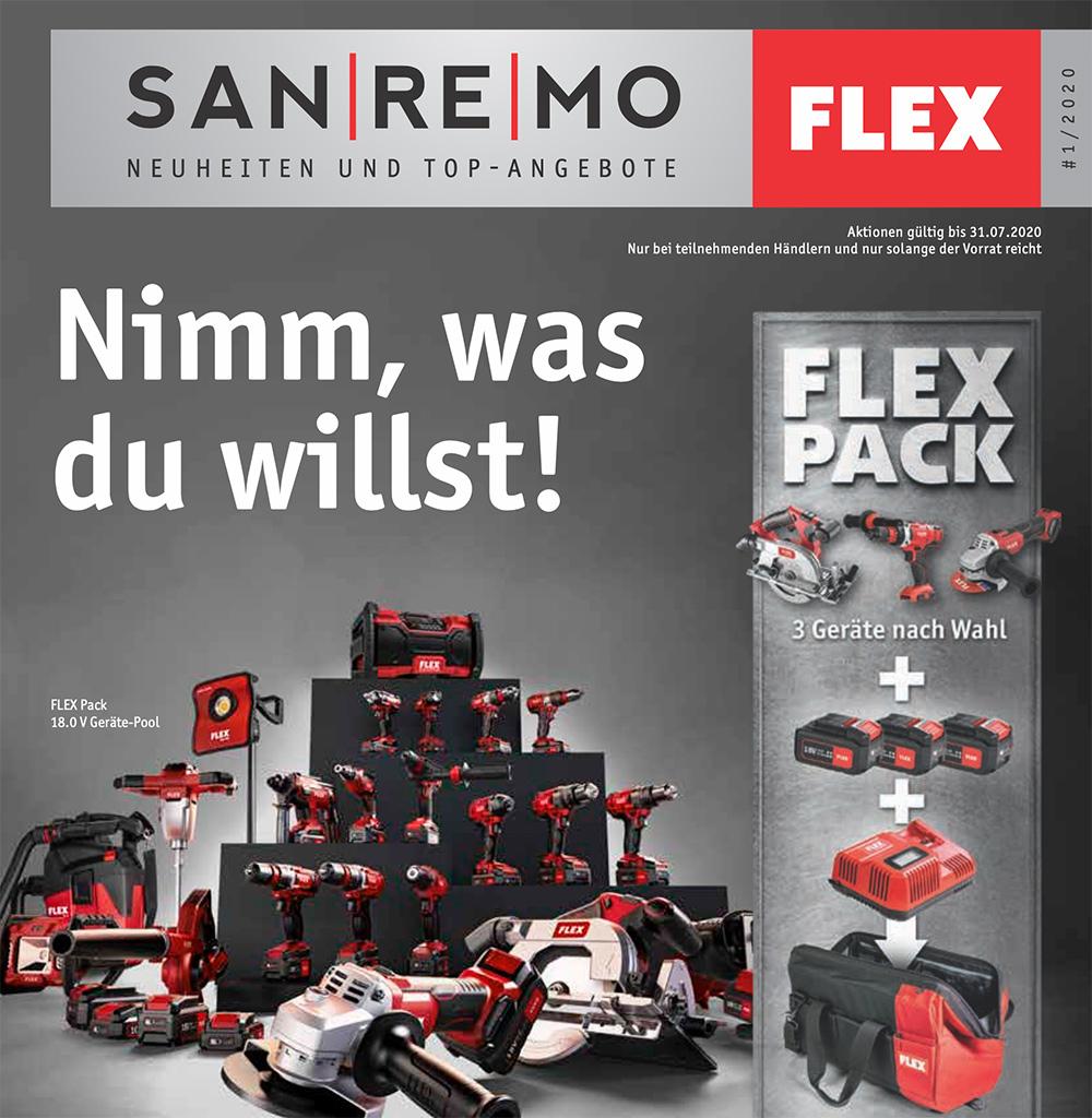 Flex SanReMo Katalog