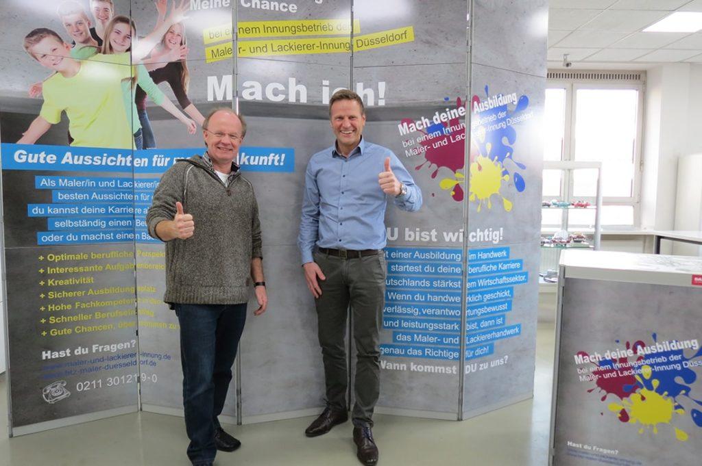 Investition in den nachwuchs - Malerinnung und Sonnen Herzog