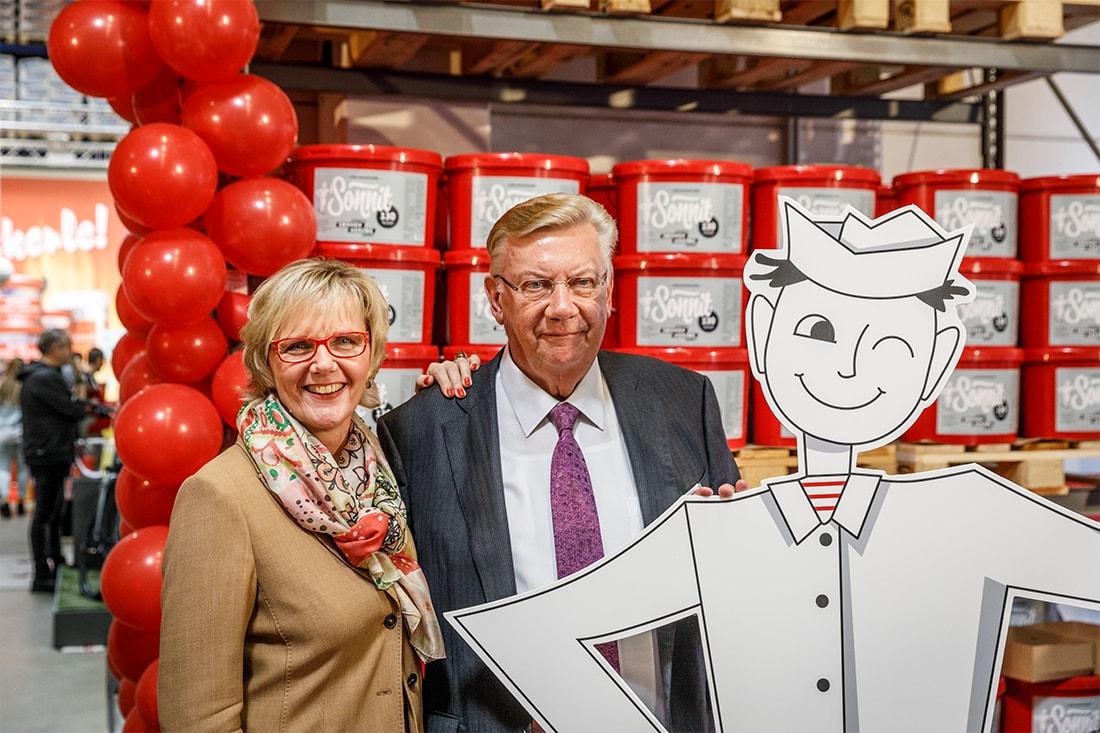 Margarete und Norbert Sonnen mit Johann