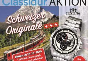 Classidur Aktion Schweizer Originale