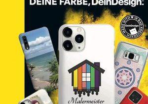 Deine Farbe dein Design Handycase